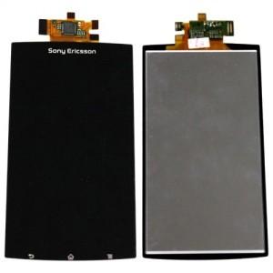 Дисплейный модуль для мобильного телефона Sony LT15i, LT18i, X12 Black