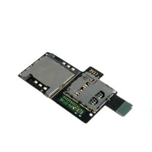 Для-HTC-Sensation-4-г-шлейф-Sim-Simcard-и-памяти-SD-карты-держатели-слот